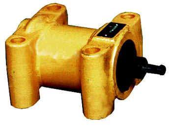 pnuematic vibrator for railroad car